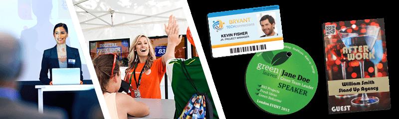 Badges voor congressen & evenementen