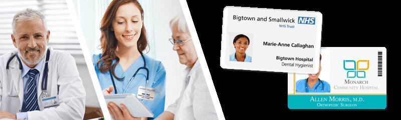 Badges voor ziekenhuizen en medische centra
