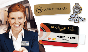 Badges voor hotels & restaurants