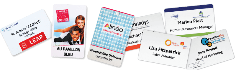 ID-kaarten en personeelsbadges
