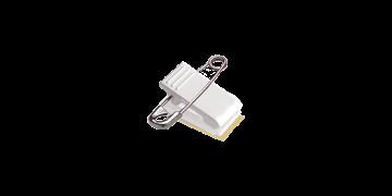Pin-clip-bevestiging met schuimband