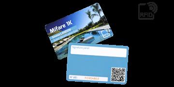 Personaliseerbare RFID kaarten 86 x 54 mm - Mifare 1K