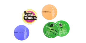 Event Badge 57mm Rond (PVC)